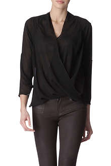 HELMUT LANG Lyra long-sleeved top