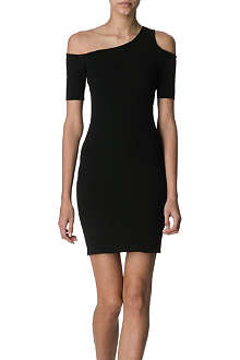 HELMUT LANG Cut-out shoulder dress