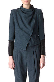 HELMUT LANG Jacquard waterfall jacket