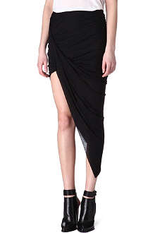 HELMUT LANG Kinetic draped skirt