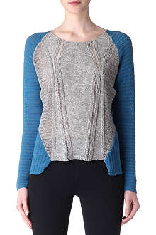 HELMUT LANG Colourblock jumper