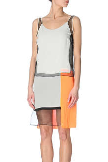 HELMUT LANG Colour-block dress