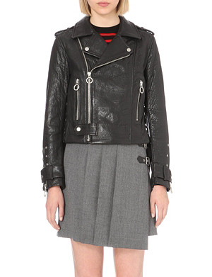 MARC BY MARC JACOBS Jonah leather jacket