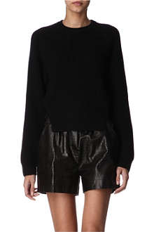 ALEXANDER WANG Dickie side-split jumper