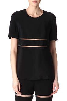 ALEXANDER WANG Cut-away t-shirt