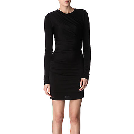 T BY ALEXANDER WANG Jersey dress (Black