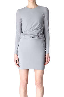 T BY ALEXANDER WANG Twist jersey dress