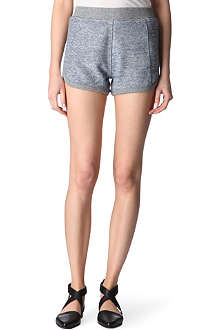 T BY ALEXANDER WANG French terry shorts