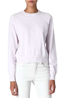 T BY ALEXANDER WANG Sheer-back jumper