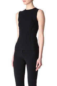 T BY ALEXANDER WANG Stretch-crepe top