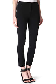 T BY ALEXANDER WANG Stretch-crepe trousers