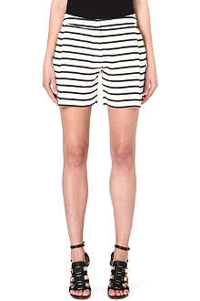 SOPHIE HULME Striped silk shorts