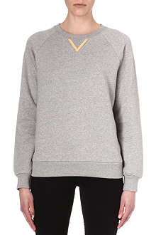 SOPHIE HULME V-detailed sweatshirt