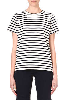 SOPHIE HULME Striped cotton t-shirt