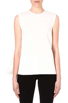 SOPHIE HULME Sheer-back silk-blend top