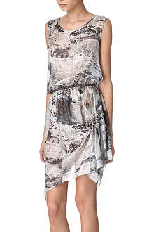 HIGH Angelic printed dress