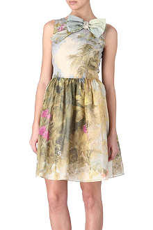 RED VALENTINO Floral garden dress