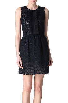 RED VALENTINO Embroidered lace dress