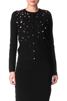 RED VALENTINO Embellished cardigan