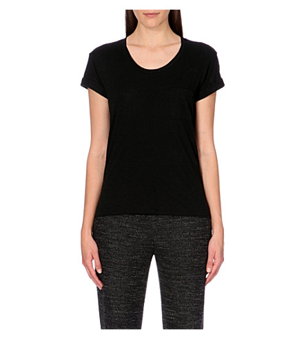 RAG & BONE The Pocket jersey t-shirt (Black