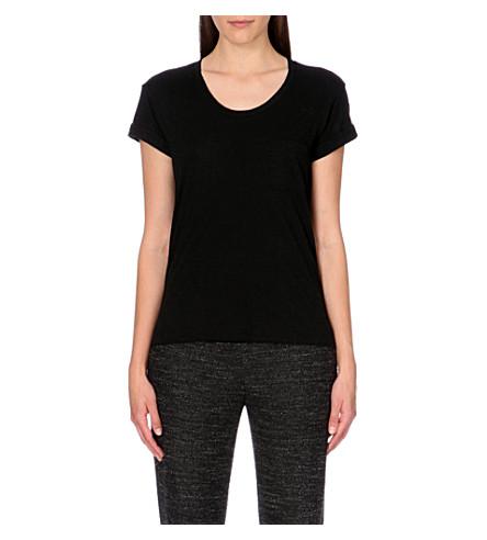 RAG & BONE The Pocket jersey t-shirt (Black
