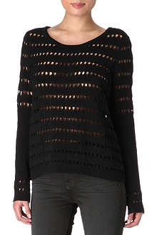 RAG & BONE Izzy crochet jumper