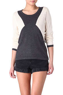 RAG & BONE Carla colourblock jumper