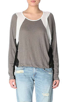 RAG & BONE Moto cropped top