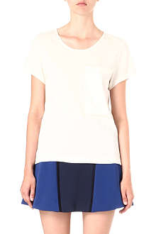 RAG & BONE Silk pocket t-shirt