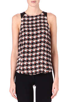 RAG & BONE Clemence silk top