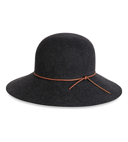 RAG & BONE Dunaway wool hat (Black:020