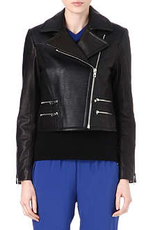 RAG & BONE Hudson leather biker jacket