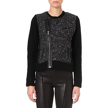 RAG & BONE Selena biker jacket (Black