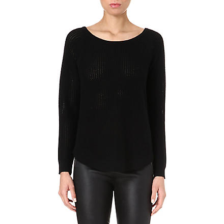 RAG & BONE Kylie wool-blend jumper (Black