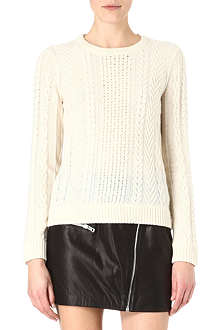 RAG & BONE Peyton cable-knit jumper