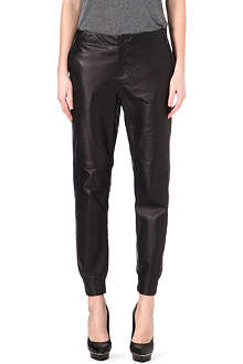 RAG & BONE Tapered leather trousers