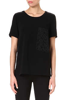 RAG & BONE Ellinor silk-panel top