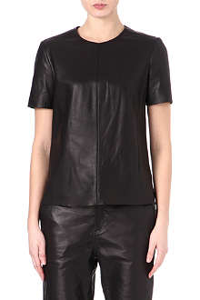 RAG & BONE Leather top