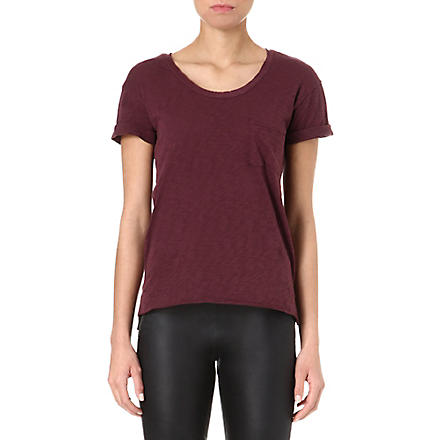 RAG & BONE The Pocket jersey t-shirt (Port