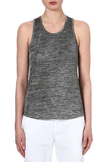 RAG & BONE Speckled slinky tank top