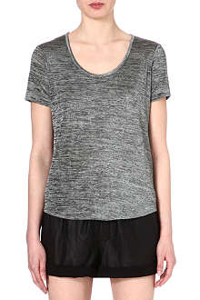 RAG & BONE Flecked slinky t-shirt