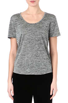 RAG & BONE Slinky dipped-hem t-shirt