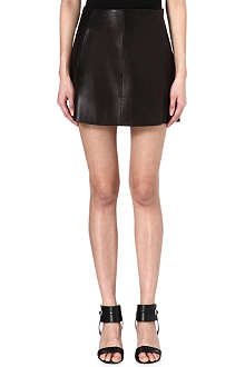 RAG & BONE Florencia leather skirt