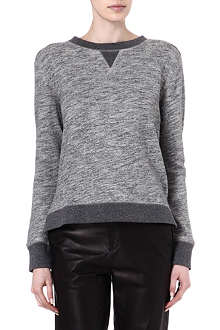 RAG & BONE Georgia cotton-jersey sweatshirt
