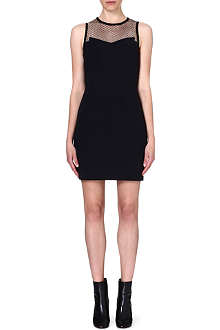 RAG & BONE Franklin mesh-panel dress