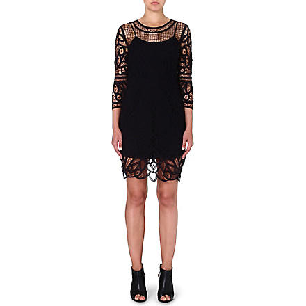 RAG & BONE Nancy lace dress (Black