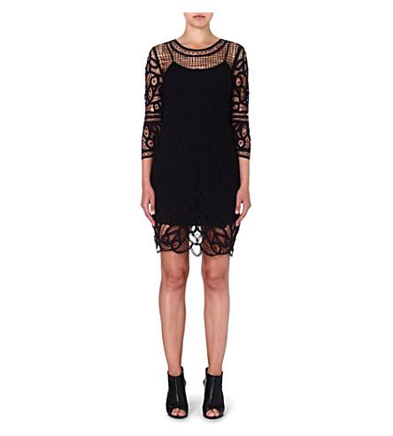 RAG & BONE Nancy lace dress (Black