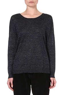RAG & BONE Josie linen sweatshirt