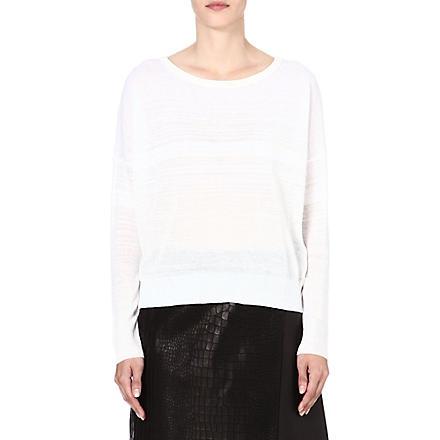 RAG & BONE Denise knitted jumper (White