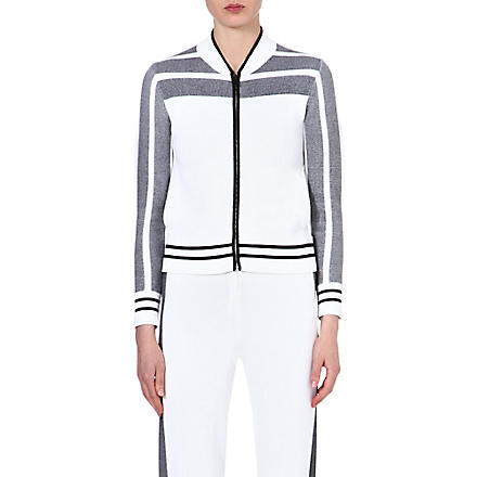 RAG & BONE Sammi jersey jacket (White